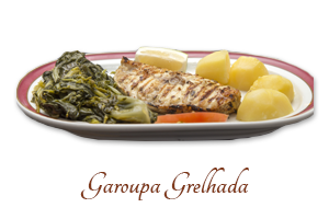 Garoupa Grelhada